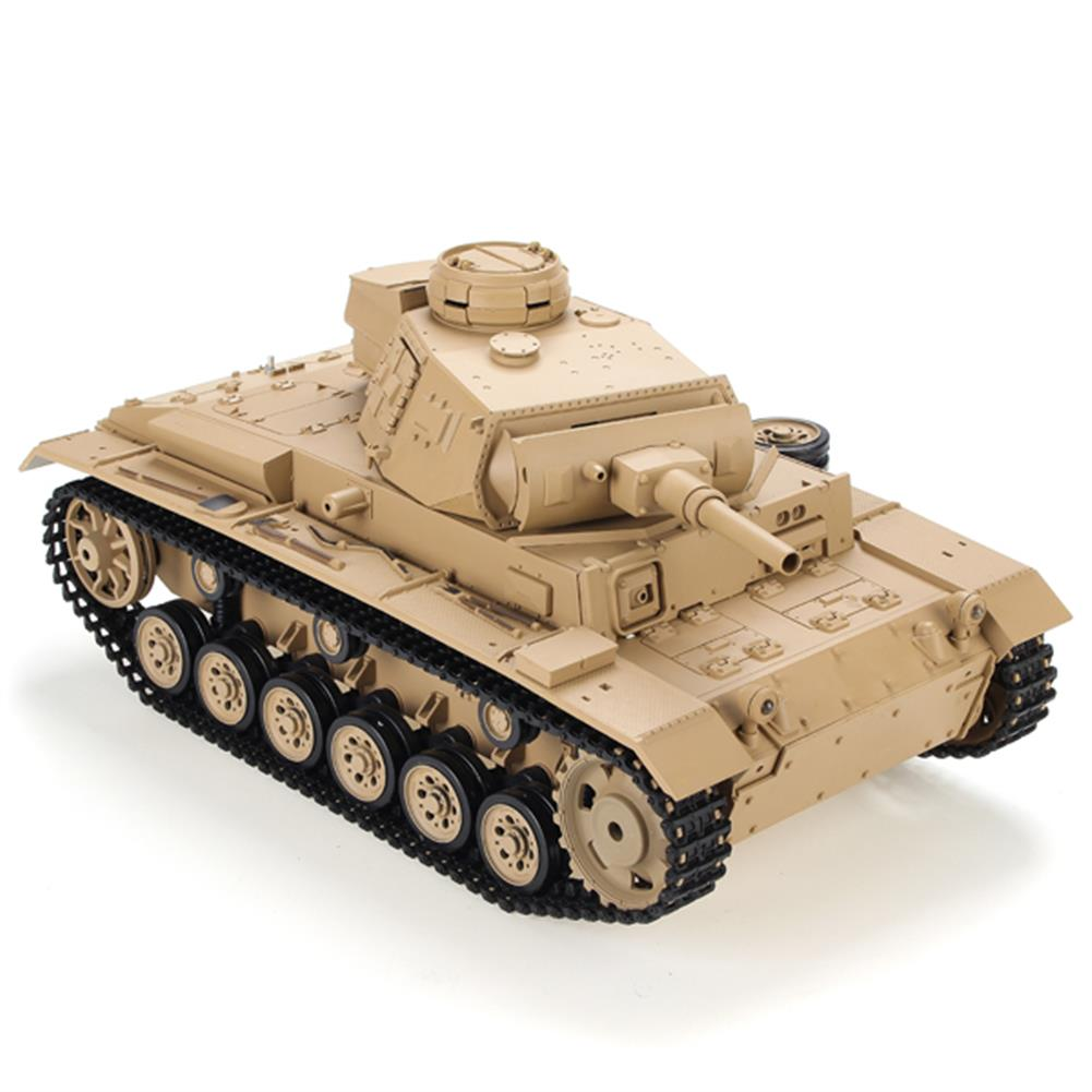 rc-cars Heng Long 1/16 2.4G 3849-1 Tauch Panzer III Ausf.H RC Battle Tank RC1084887 1