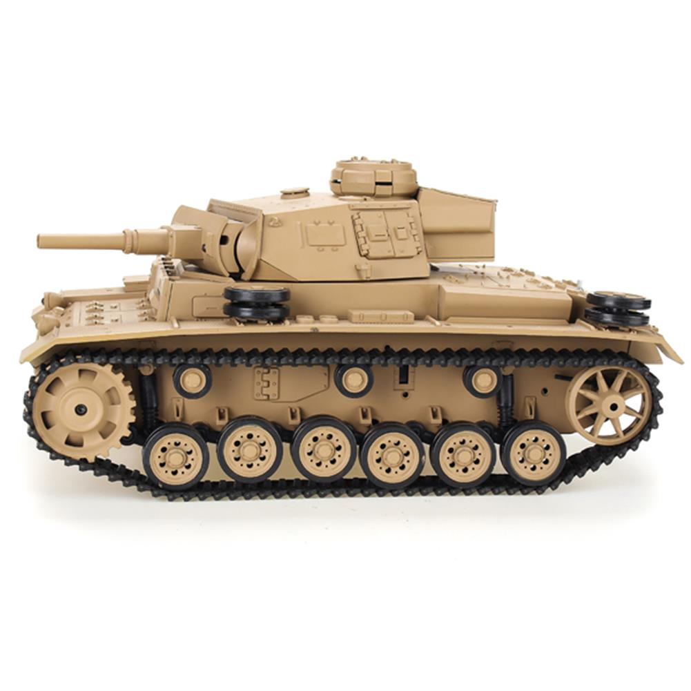 rc-cars Heng Long 1/16 2.4G 3849-1 Tauch Panzer III Ausf.H RC Battle Tank RC1084887 3
