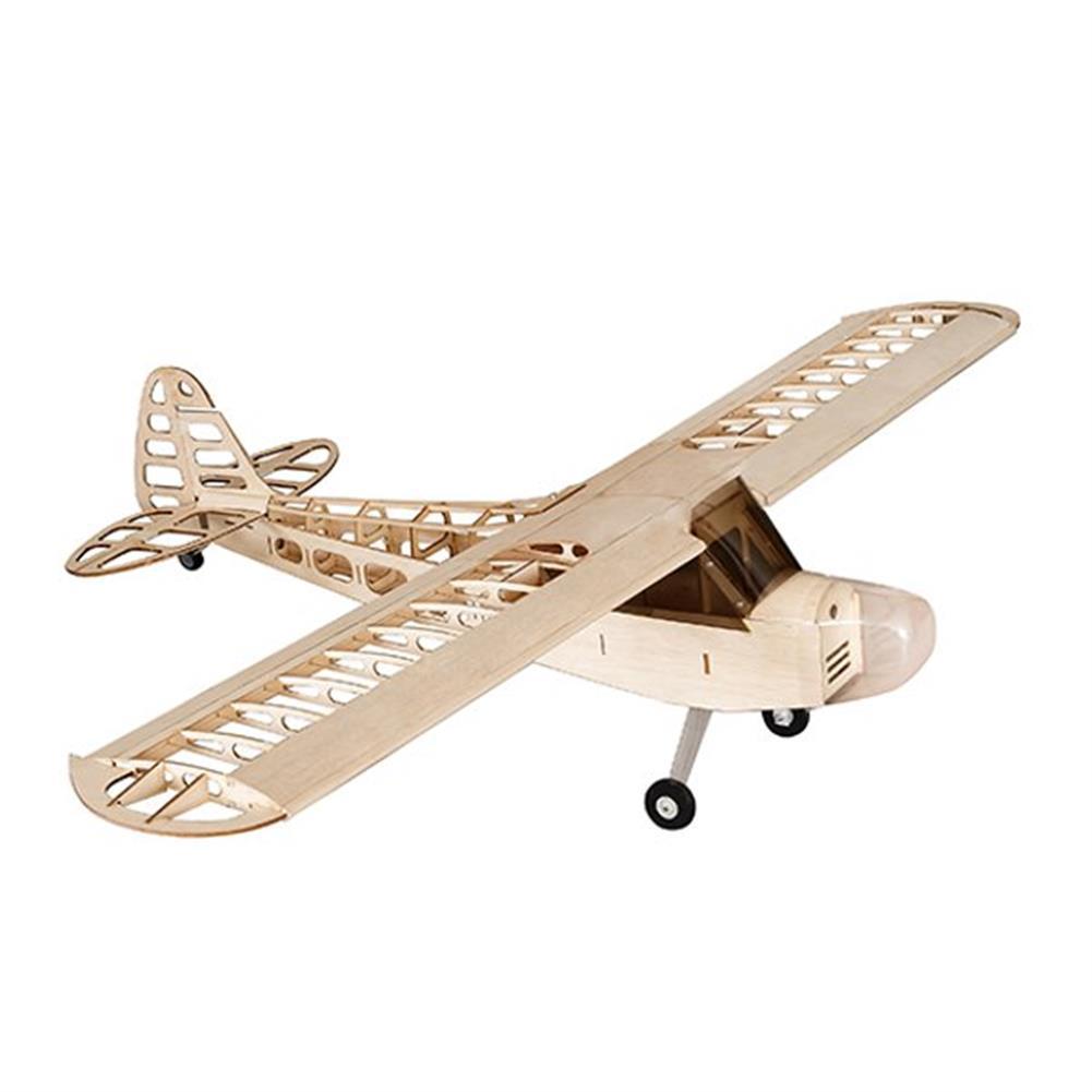 rc-airplane Balsawood J-3 J3 Laser Cut 1180mm Wingspan Glazing Ang Cowl RC Airplane KIT V2 RC1089013