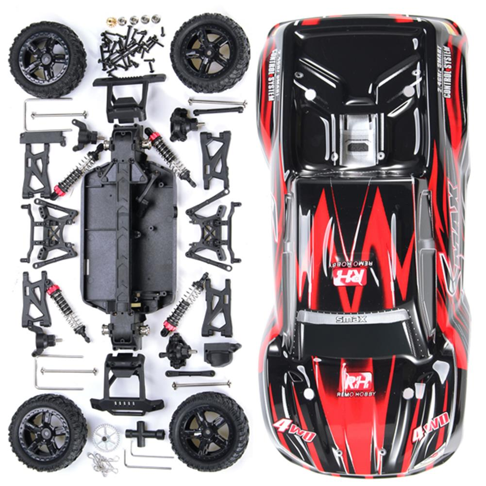 rc-cars Remo 1/16 DIY RC Desert Buggy Truck Kit RC Car without Electric Parts RC1104282 8