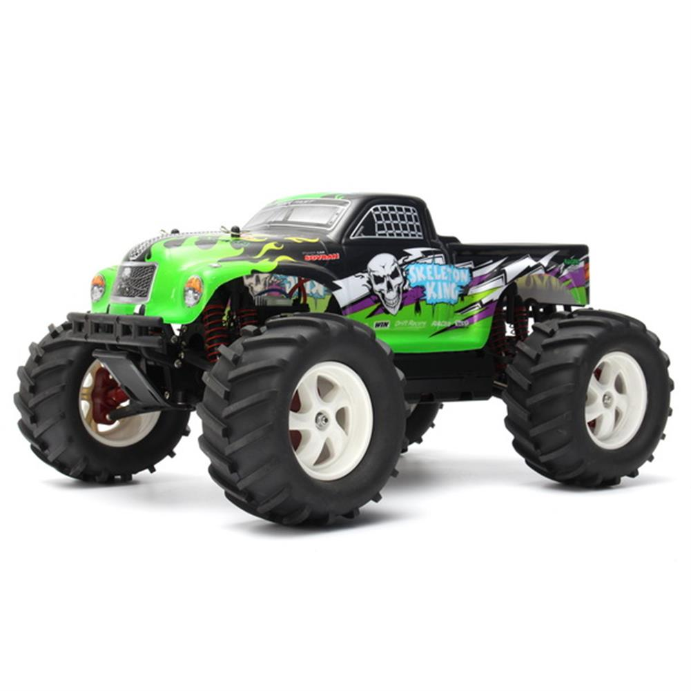rc-cars Pineal Model 1/8 2.4G Skelton King SG-801 Brushed Monster Truck Surpass Speed RC Car RC1137792