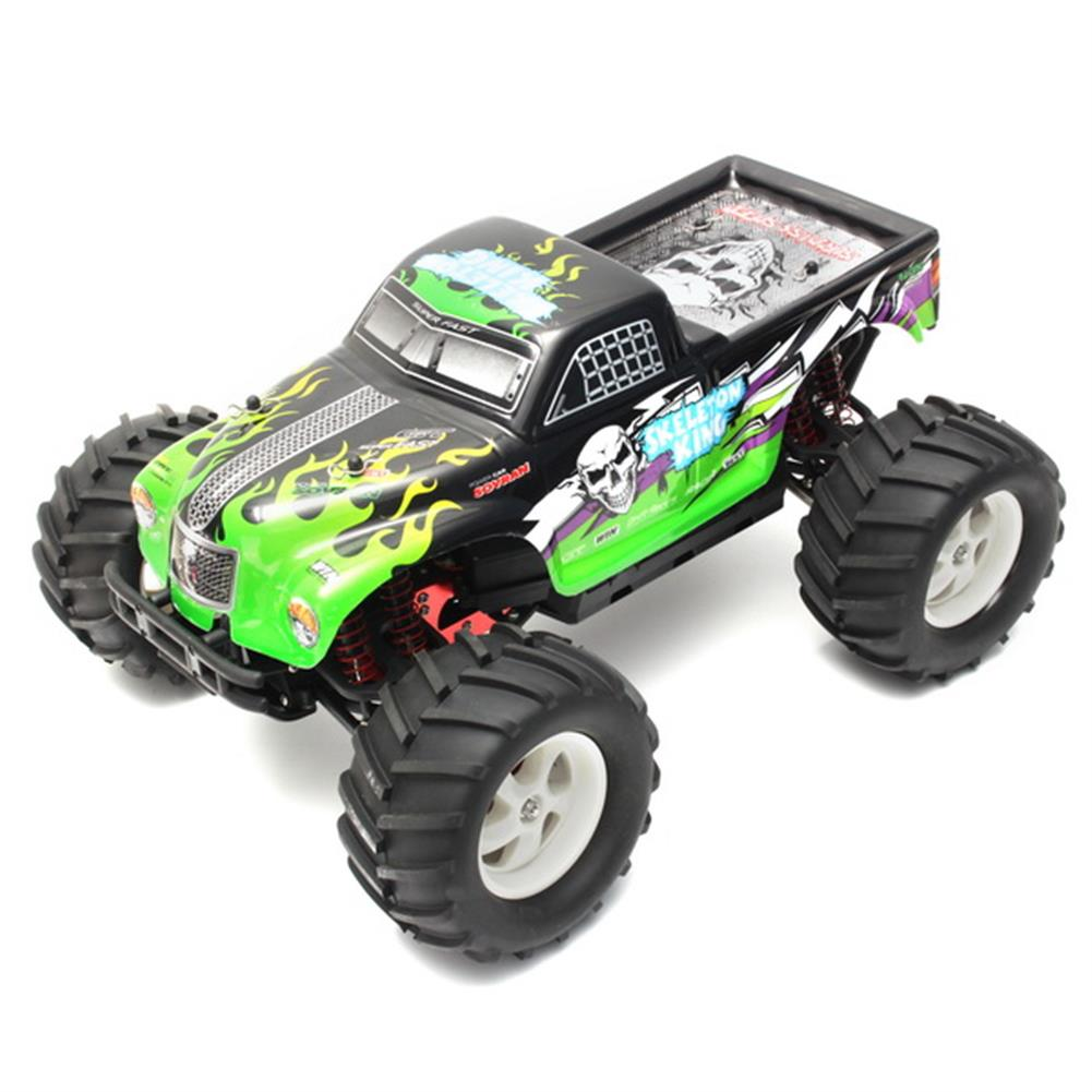 rc-cars Pineal Model 1/8 2.4G Skelton King SG-801 Brushed Monster Truck Surpass Speed RC Car RC1137792 1