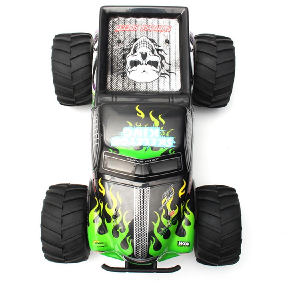 rc-cars Pineal Model 1/8 2.4G Skelton King SG-801 Brushed Monster Truck Surpass Speed RC Car RC1137792 2