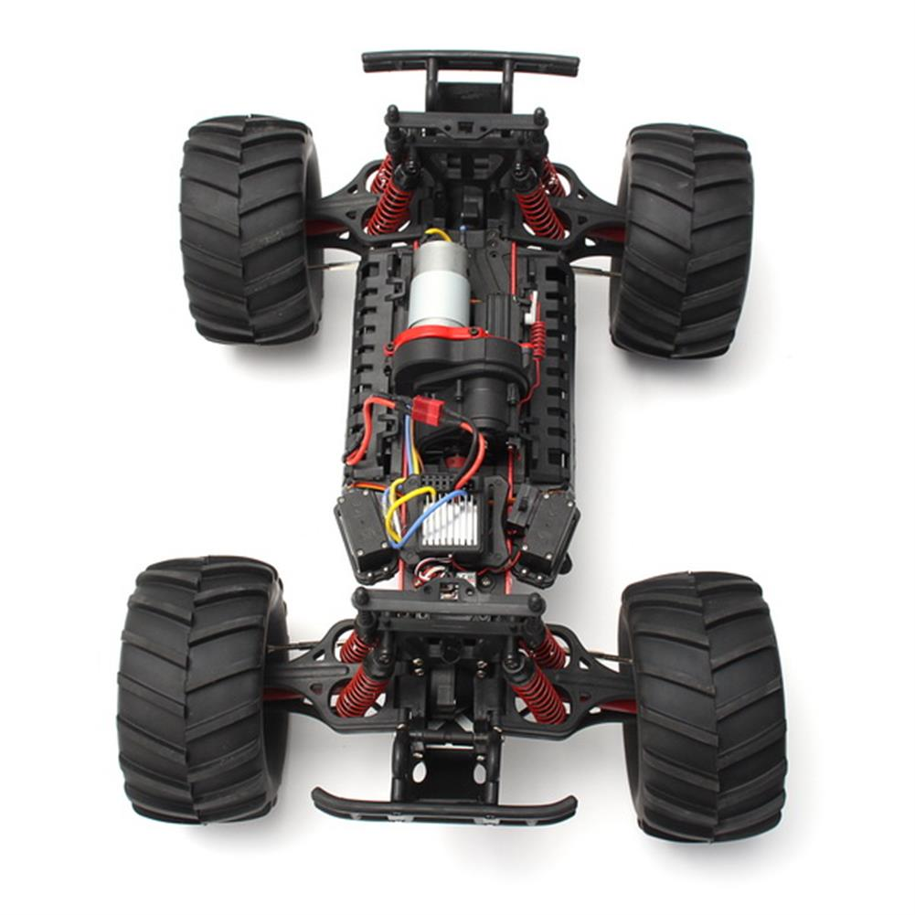 rc-cars Pineal Model 1/8 2.4G Skelton King SG-801 Brushed Monster Truck Surpass Speed RC Car RC1137792 5
