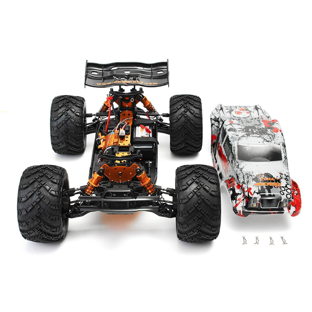 rc-cars DHK Hobby Zombie 8E 8384 1/8 100A 4WD Brushless Monster Truck RTR RC Car RC1160201 6