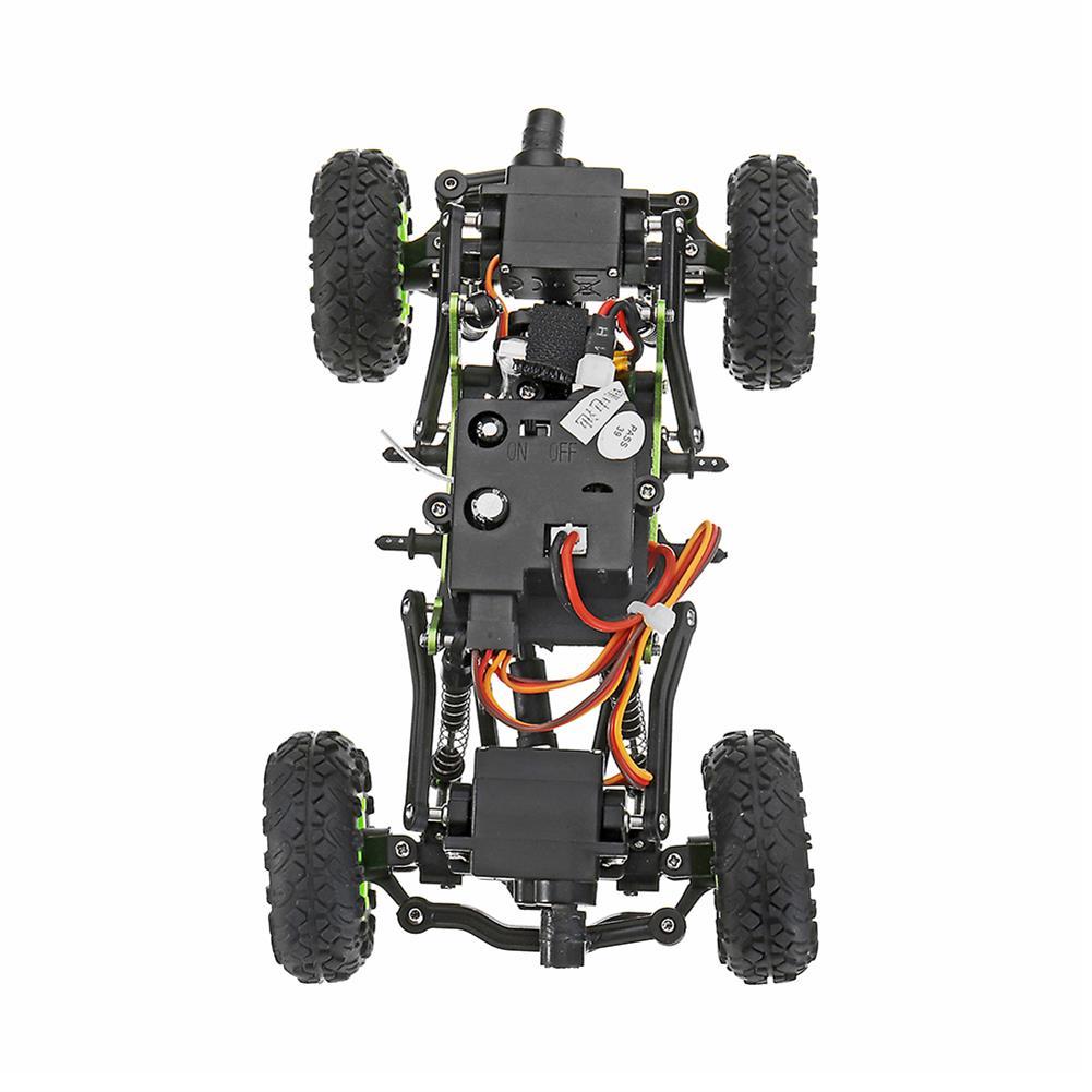 rc-cars WLtoys 24438B 4WD Dual Steel Ring Servo Climbing Double Steering Gear Frame RC Car RC1169458 2