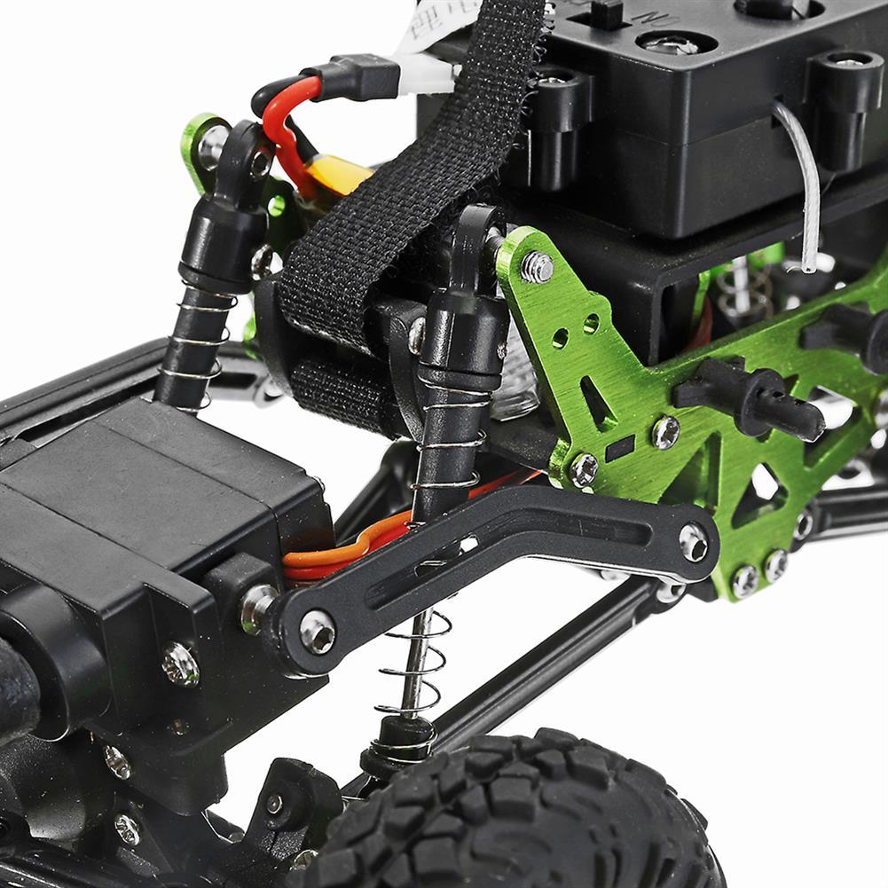 rc-cars WLtoys 24438B 4WD Dual Steel Ring Servo Climbing Double Steering Gear Frame RC Car RC1169458 3