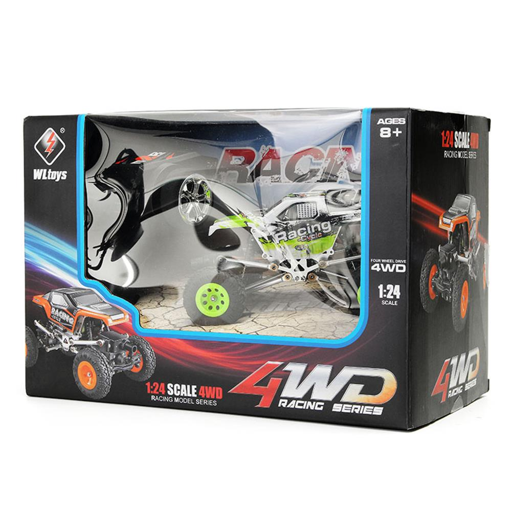 rc-cars WLtoys 24438B 4WD Dual Steel Ring Servo Climbing Double Steering Gear Frame RC Car RC1169458 8