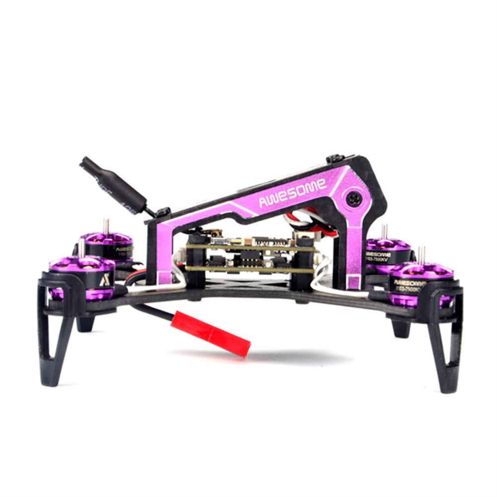 fpv-racing-drones AWESOME MINI F100 100MM FPV Racing RC Drone ARF Omnibus F3 OSD 5.8G 25mW Blheli_S 10A 600TVL Camera RC1171652 4