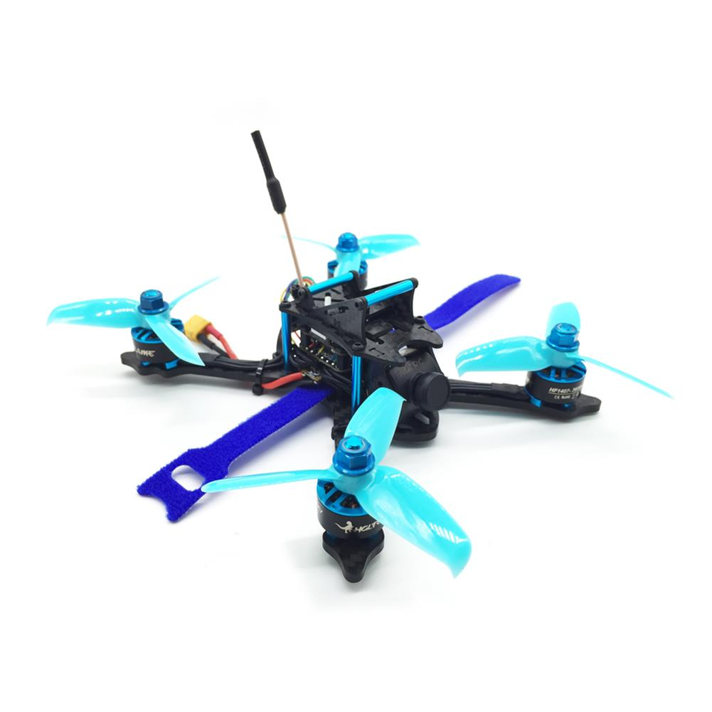 fpv-racing-drones HGLRC XJB-145MM FPV Racing Drone PNP Omnibus F4 28A 2-4S Blheli_S ESC 25/100/200/350mW Switchable VTX RC1211377