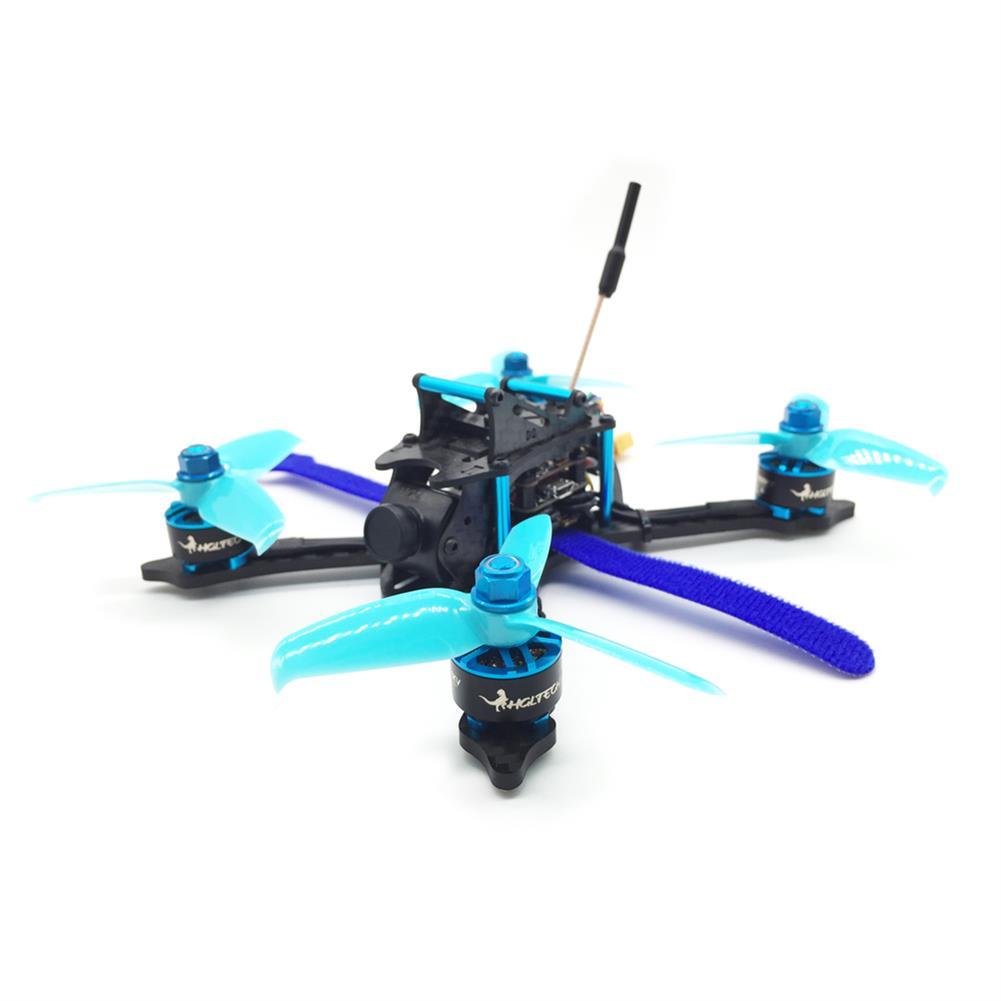 fpv-racing-drones HGLRC XJB-145MM FPV Racing Drone PNP Omnibus F4 28A 2-4S Blheli_S ESC 25/100/200/350mW Switchable VTX RC1211377 1