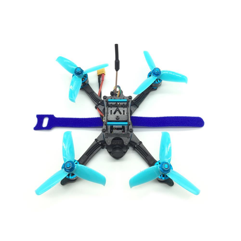 fpv-racing-drones HGLRC XJB-145MM FPV Racing Drone PNP Omnibus F4 28A 2-4S Blheli_S ESC 25/100/200/350mW Switchable VTX RC1211377 3