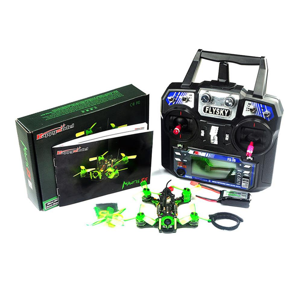 fpv-racing-drones Happymodel Mantis85 85mm RC FPV Racing Drone RTF w/ Supers_F4 6A BLHELI_S 5.8G 25MW 48CH 600TVL RC1221699