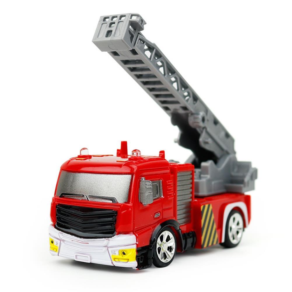 rc-cars Coke Can Shenqiwei 8027 1:58 Aerial Ladder Fire-Truck RC Car Mini 4 Channel RC1229753