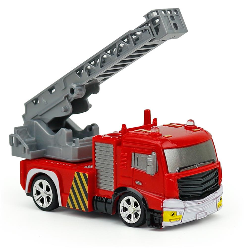 rc-cars Coke Can Shenqiwei 8027 1:58 Aerial Ladder Fire-Truck RC Car Mini 4 Channel RC1229753 1