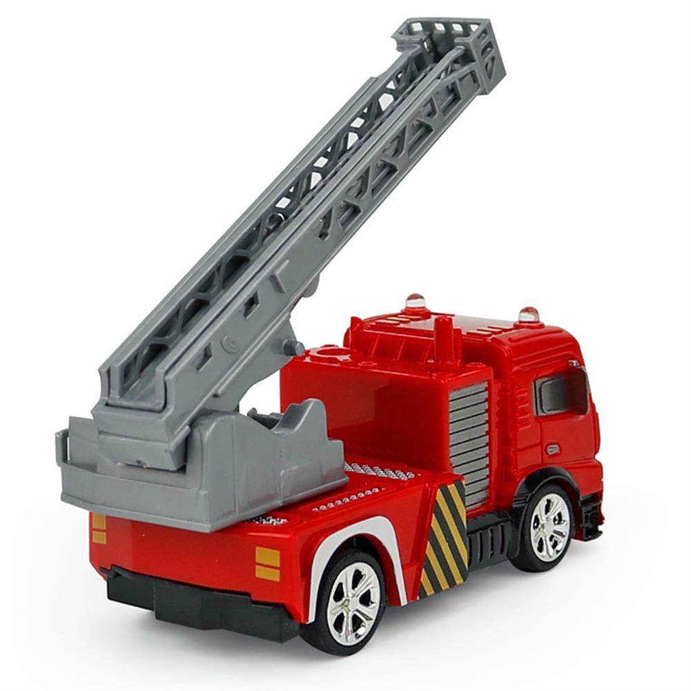 rc-cars Coke Can Shenqiwei 8027 1:58 Aerial Ladder Fire-Truck RC Car Mini 4 Channel RC1229753 2