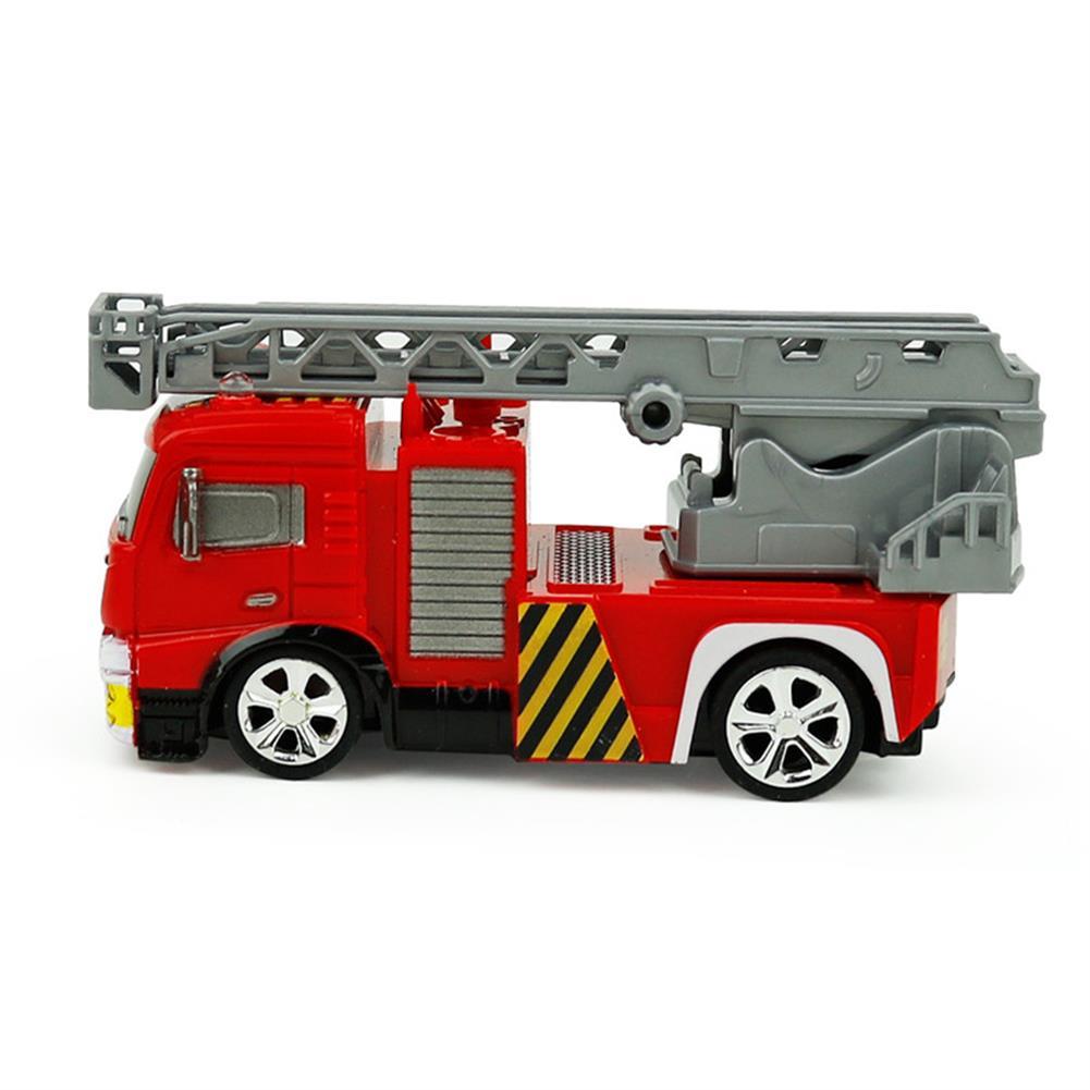 rc-cars Coke Can Shenqiwei 8027 1:58 Aerial Ladder Fire-Truck RC Car Mini 4 Channel RC1229753 3