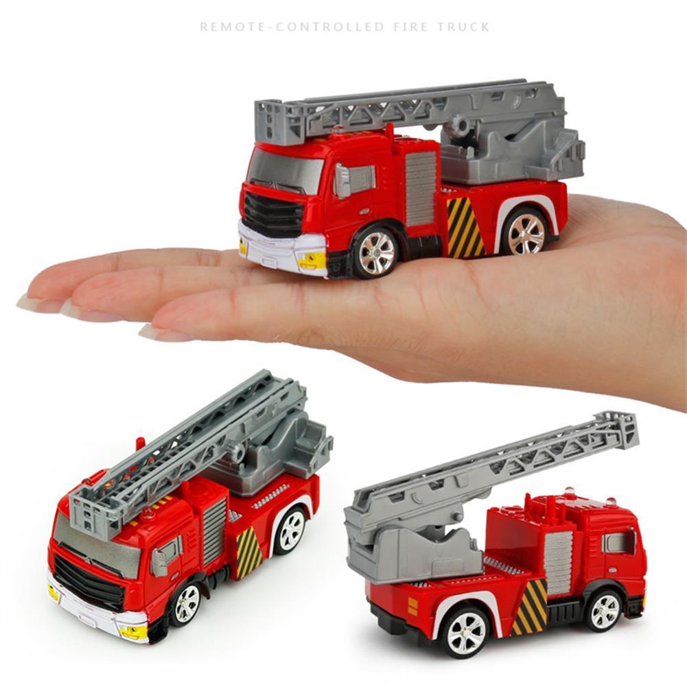 rc-cars Coke Can Shenqiwei 8027 1:58 Aerial Ladder Fire-Truck RC Car Mini 4 Channel RC1229753 5