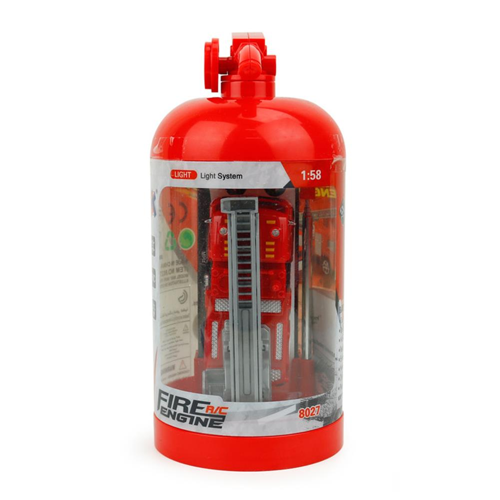 rc-cars Coke Can Shenqiwei 8027 1:58 Aerial Ladder Fire-Truck RC Car Mini 4 Channel RC1229753 7