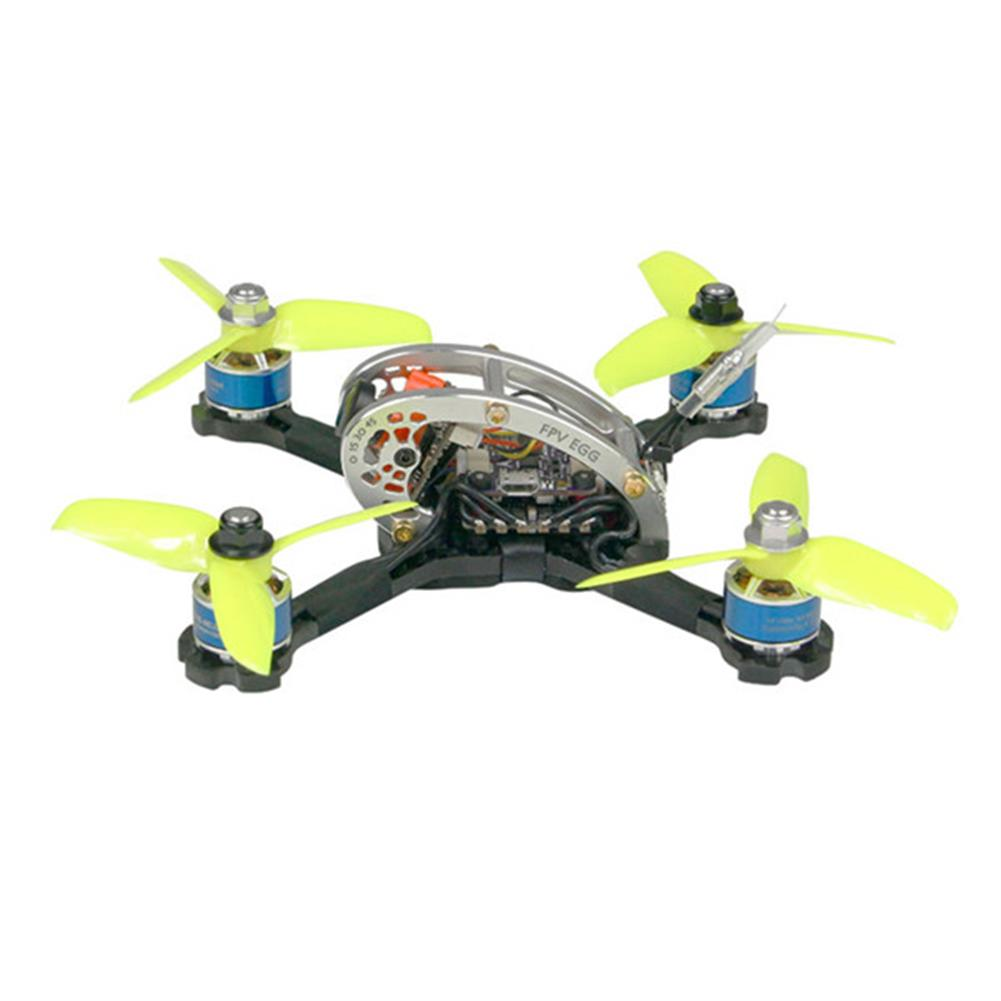 fpv-racing-drones KINGKONG/LDARC FPV EGG PRO 138mm RC FPV Racing Drone PNP W/ F4 4in1 20A 25mW/100mW 16CH CCD600 CAM RC1244674 2