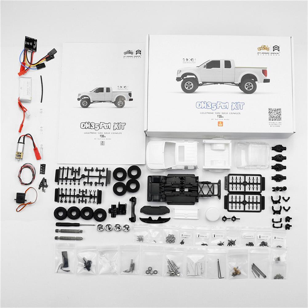 rc-cars Orlandoo OH35P01 F150 1/35 EP Scale Climbing RC Crawler Car Parts DIY Assemble KIT Motor ESC Servo RC1251504 1