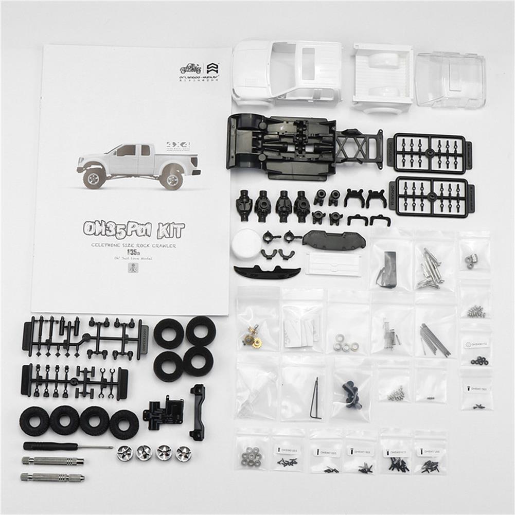 rc-cars Orlandoo OH35P01 F150 1/35 EP Scale Climbing RC Crawler Car Parts DIY Assemble KIT Motor ESC Servo RC1251504 2