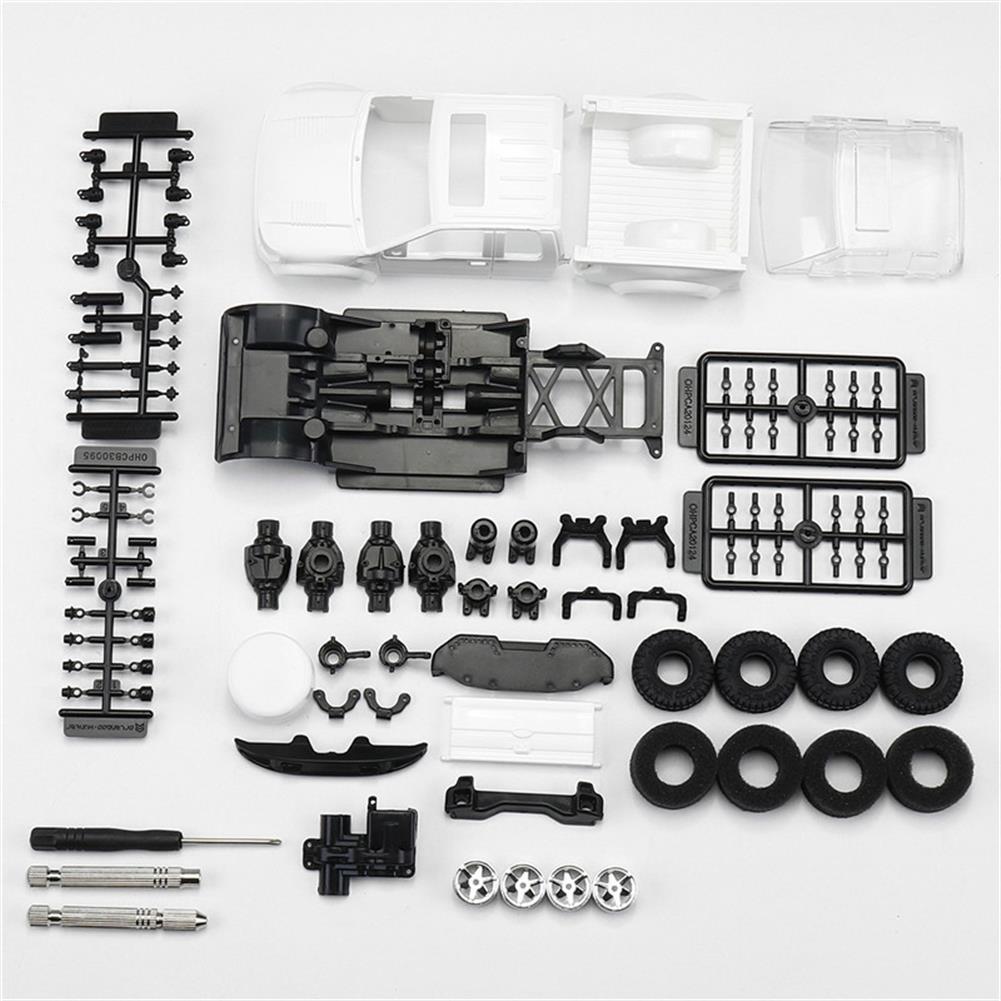 rc-cars Orlandoo OH35P01 F150 1/35 EP Scale Climbing RC Crawler Car Parts DIY Assemble KIT Motor ESC Servo RC1251504 4