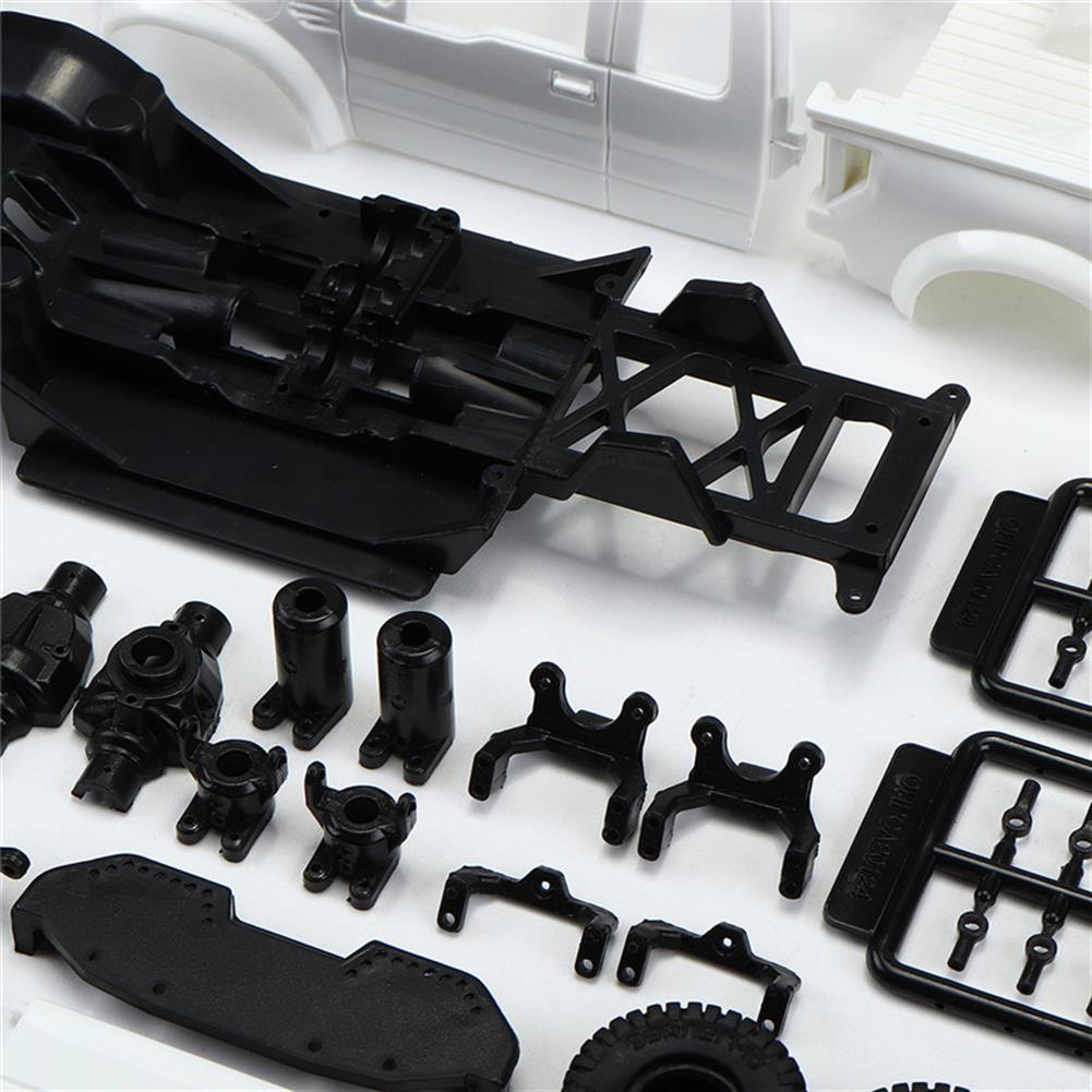 rc-cars Orlandoo OH35P01 F150 1/35 EP Scale Climbing RC Crawler Car Parts DIY Assemble KIT Motor ESC Servo RC1251504 6