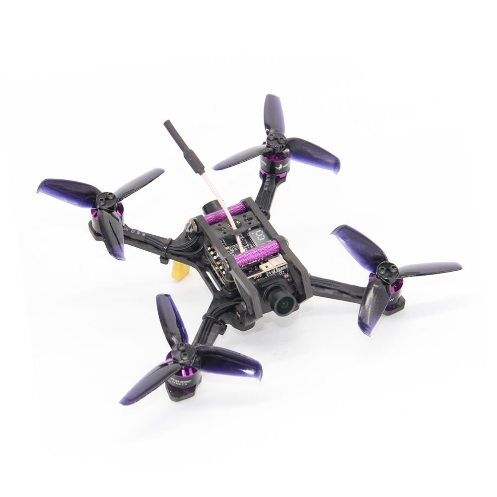 fpv-racing-drones HGLRC HORNET 120mm FPV Racing Drone PNP Omnibus F4 OSD 13A Blheli_S ESC 5.8G 25/100/200/350mW VTX AURORA HD 1200TVL FPV Camera RC1254621 1