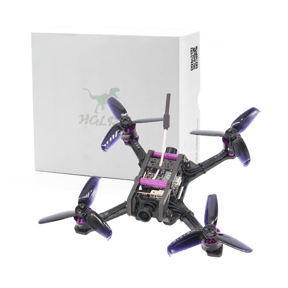 fpv-racing-drones HGLRC HORNET 120mm FPV Racing Drone PNP Omnibus F4 OSD 13A Blheli_S ESC 5.8G 25/100/200/350mW VTX AURORA HD 1200TVL FPV Camera RC1254621 2