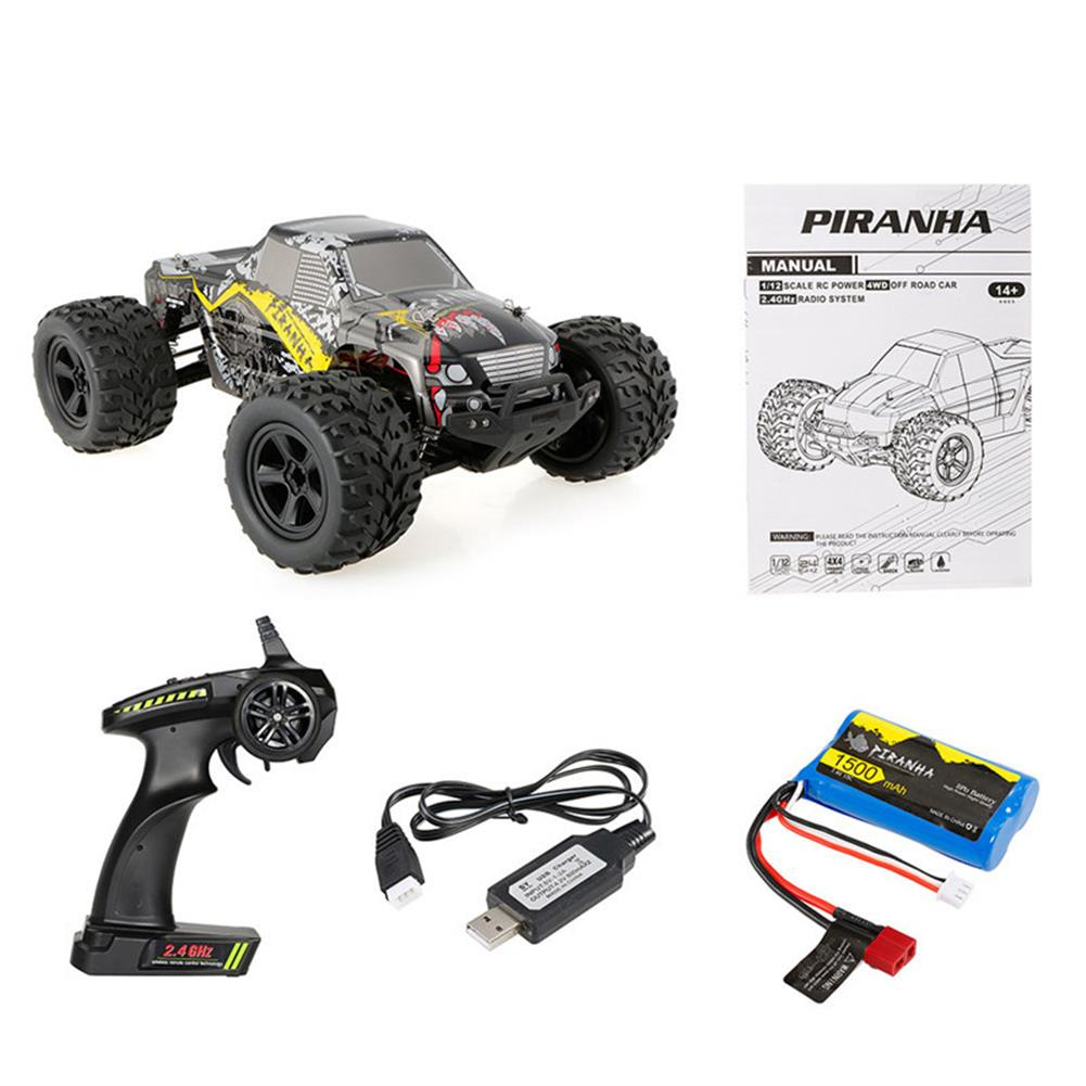 rc-cars PXtoys 9200 1/12 2.4G 4WD 40KM/H Electric RC Car Pick-up Off-Road Vehicle Toys RTR RC1254683 7