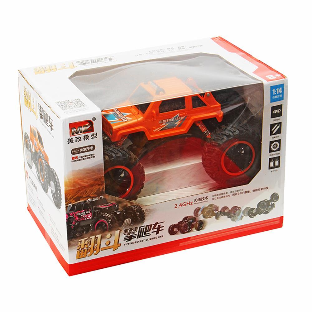 rc-cars MZ 2836 2.4G 4WD 4CH Climber RC Car Four Drive High Speed Car Toys RC1254822 5