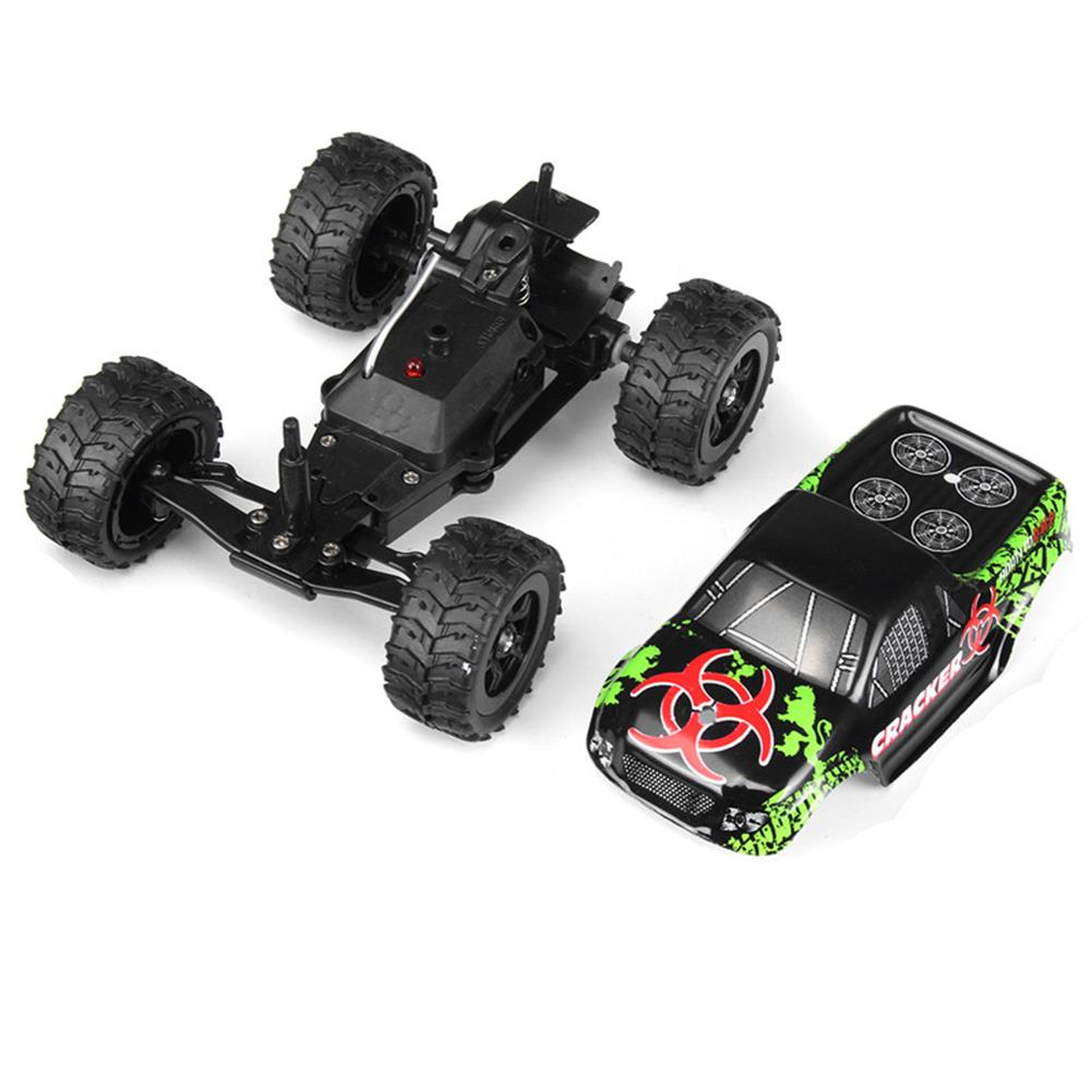 rc-cars 9115M 1/32 2.4G 2WD 4CH Mini High Speed Radio RC Racing Car Rock Crawler Off-Road Truck Toys RC1258591 6