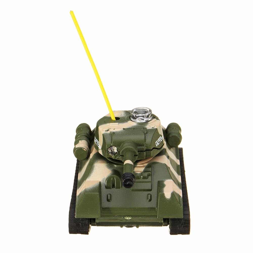 rc-tank Happy Cow 27MHZ 777-215 Mini Radio RC Army Battle Infrared Tank With Light Model Toys For Kids Gift RC1259598 3
