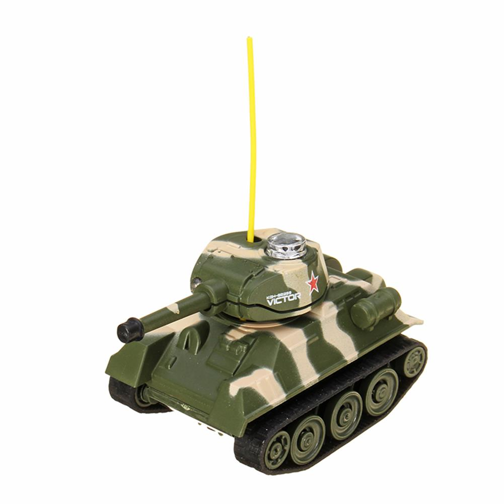 rc-tank Happy Cow 27MHZ 777-215 Mini Radio RC Army Battle Infrared Tank With Light Model Toys For Kids Gift RC1259598 5