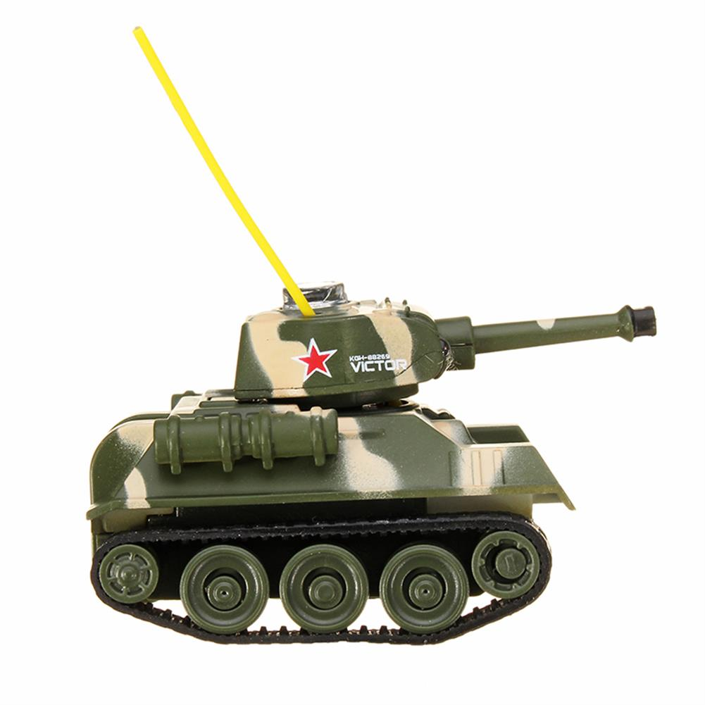 rc-tank Happy Cow 27MHZ 777-215 Mini Radio RC Army Battle Infrared Tank With Light Model Toys For Kids Gift RC1259598 6