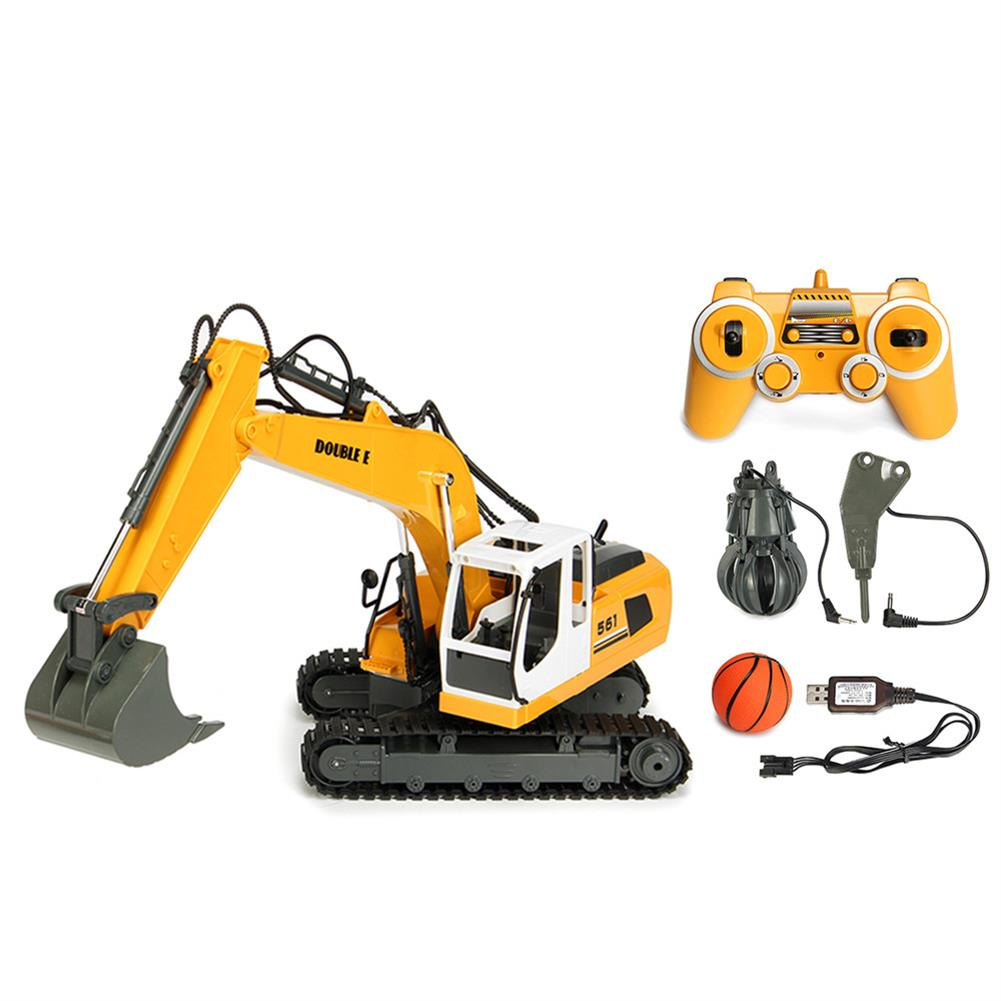 rc-cars DOUBLE EAGLE E561-001 1/16 17Channel Construction Tractor Alloy Excavator RC Car Toys RC1261911