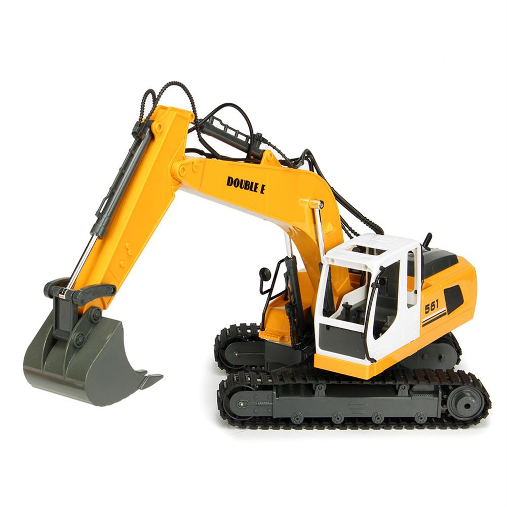rc-cars DOUBLE EAGLE E561-001 1/16 17Channel Construction Tractor Alloy Excavator RC Car Toys RC1261911 1