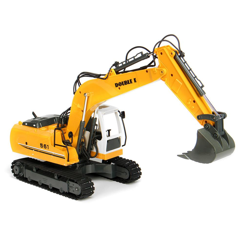 rc-cars DOUBLE EAGLE E561-001 1/16 17Channel Construction Tractor Alloy Excavator RC Car Toys RC1261911 2