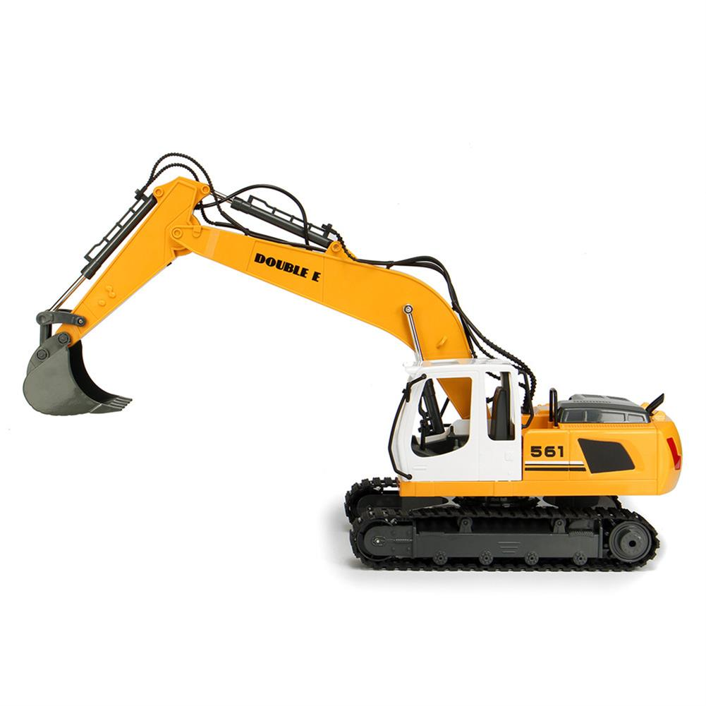 rc-cars DOUBLE EAGLE E561-001 1/16 17Channel Construction Tractor Alloy Excavator RC Car Toys RC1261911 3