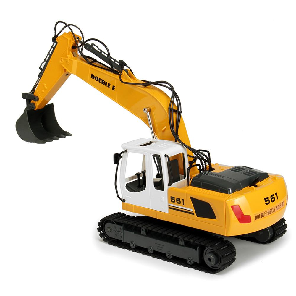 rc-cars DOUBLE EAGLE E561-001 1/16 17Channel Construction Tractor Alloy Excavator RC Car Toys RC1261911 4