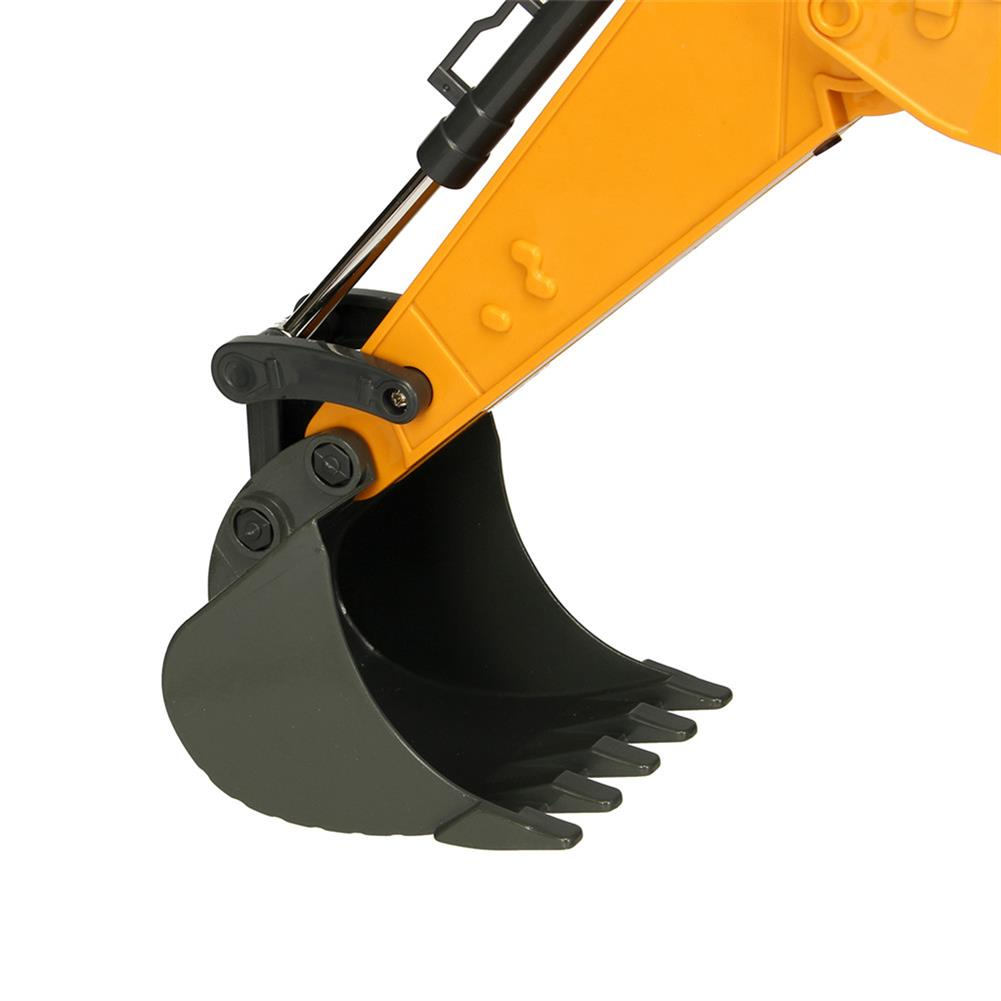 rc-cars DOUBLE EAGLE E561-001 1/16 17Channel Construction Tractor Alloy Excavator RC Car Toys RC1261911 9