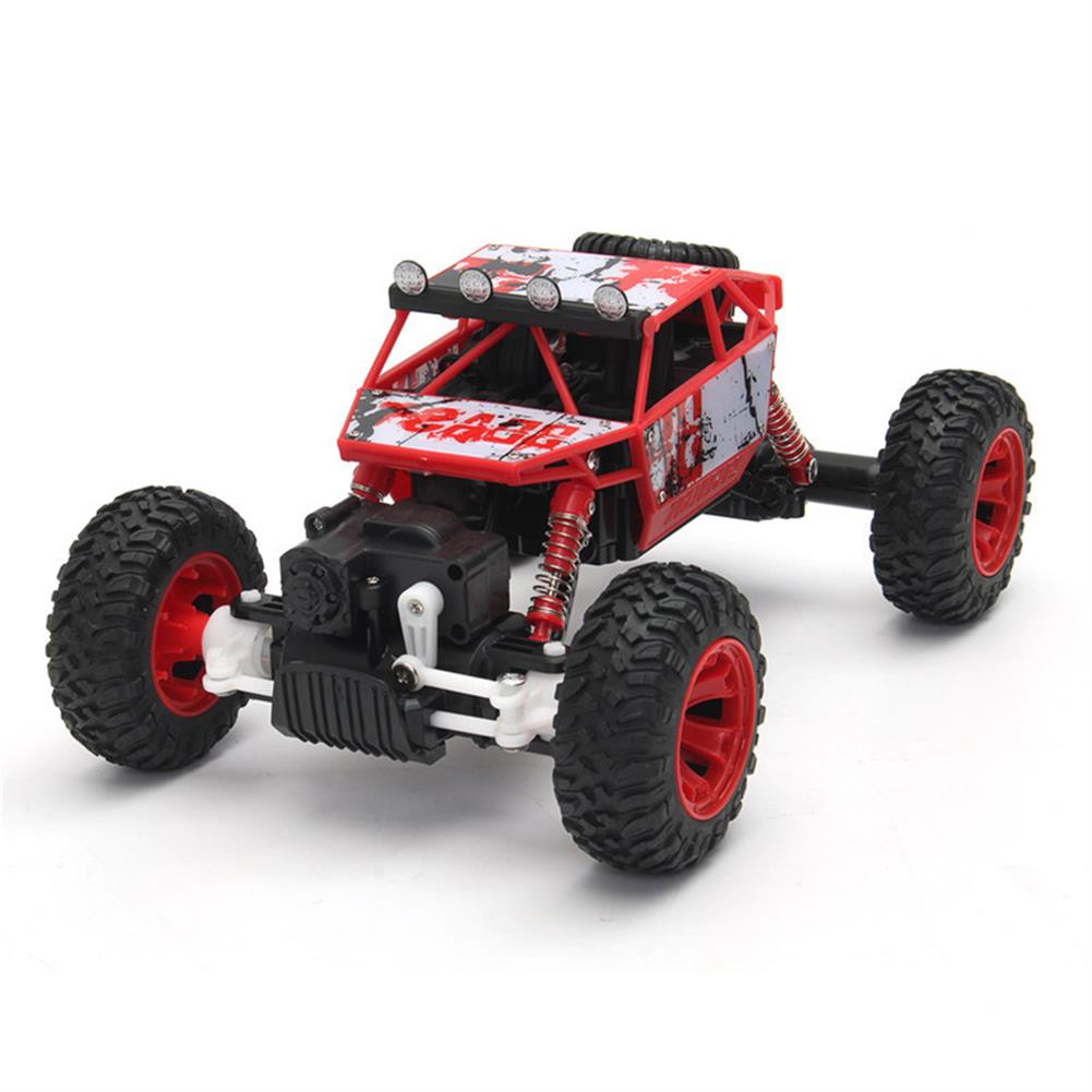 rc-cars 1/18 2.4G 4WD RC Racing Car Double Motor Buggy Rock Crawler Off-Road Truck Toys RC1262114