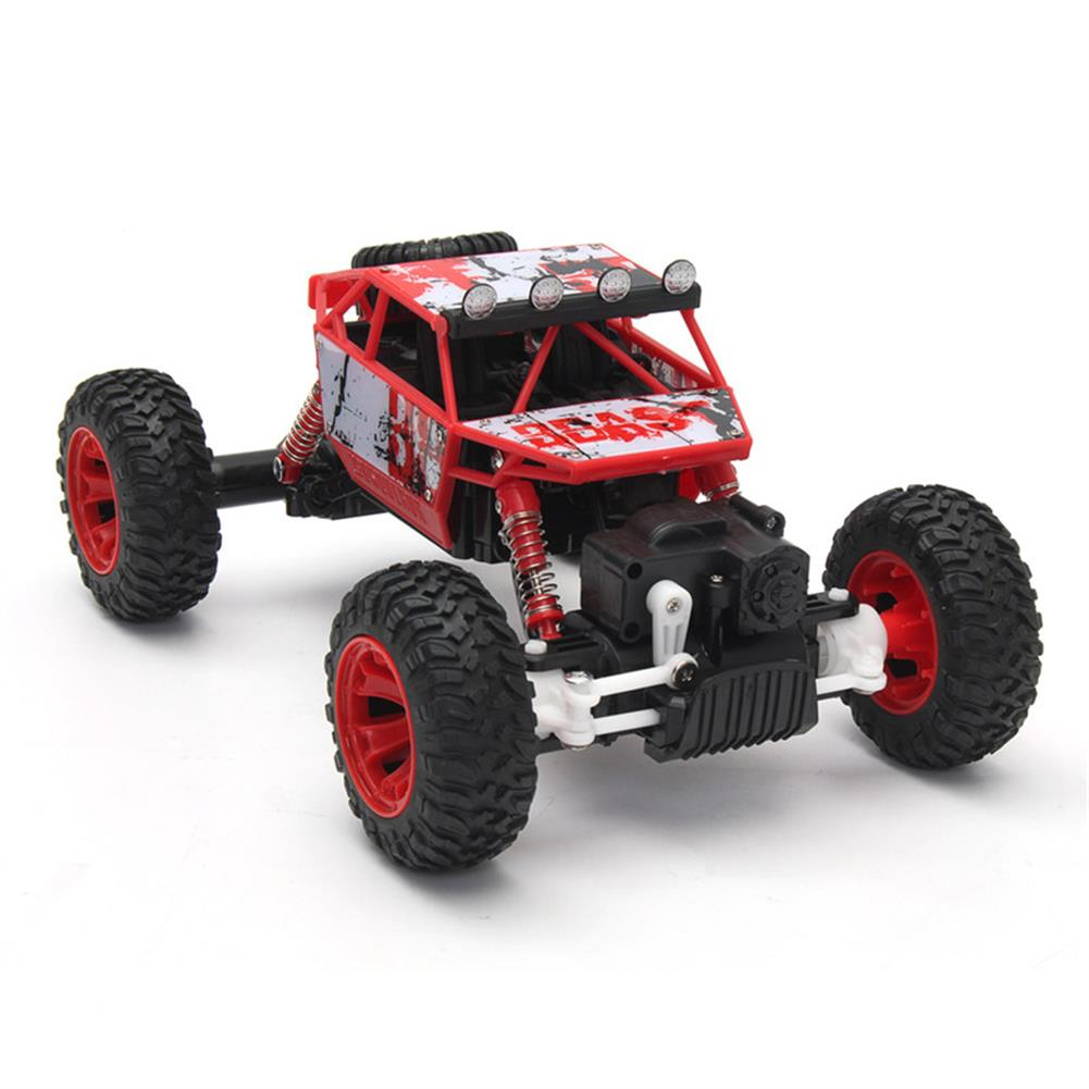 rc-cars 1/18 2.4G 4WD RC Racing Car Double Motor Buggy Rock Crawler Off-Road Truck Toys RC1262114 1