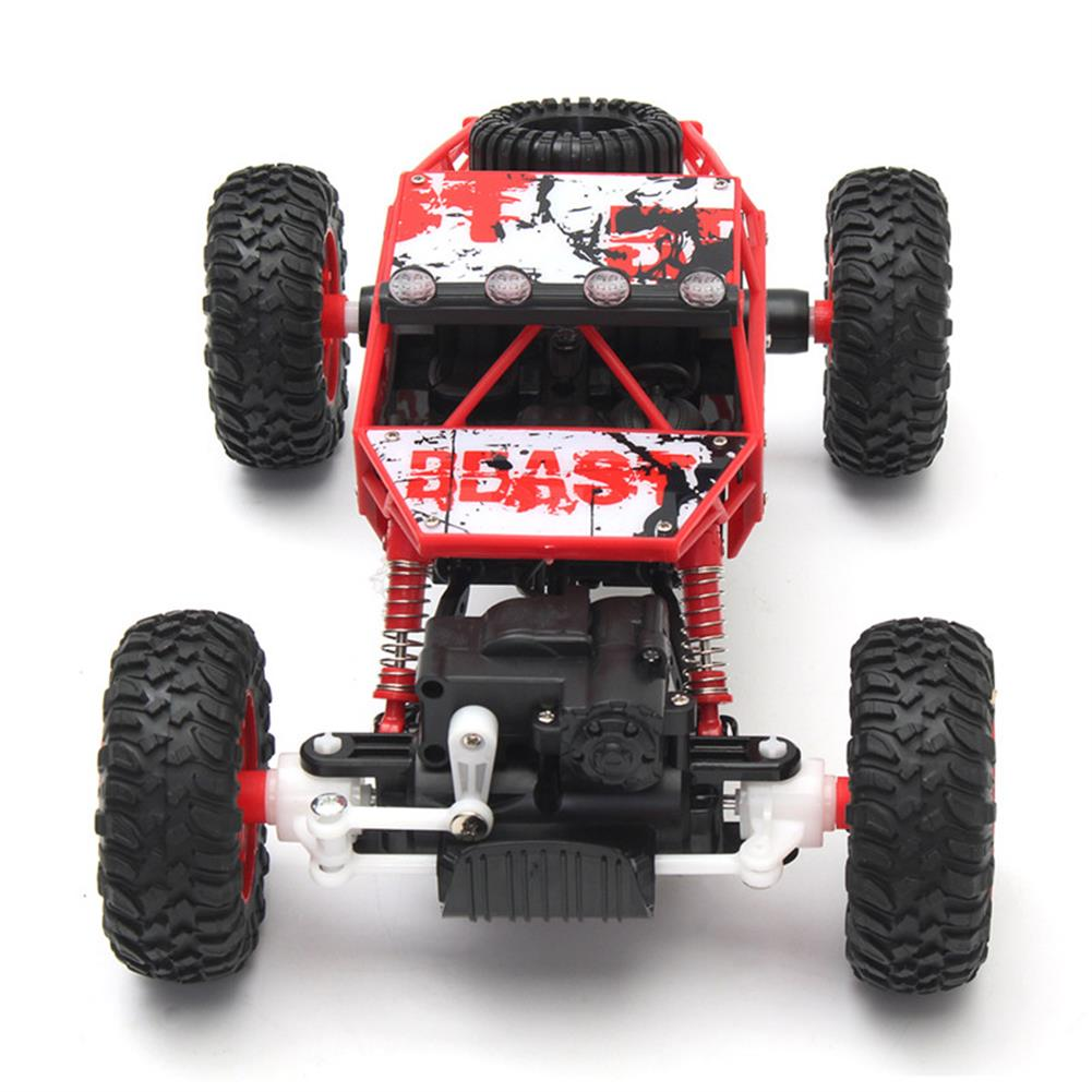 rc-cars 1/18 2.4G 4WD RC Racing Car Double Motor Buggy Rock Crawler Off-Road Truck Toys RC1262114 2