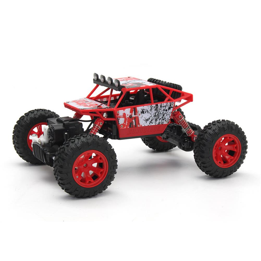 rc-cars 1/18 2.4G 4WD RC Racing Car Double Motor Buggy Rock Crawler Off-Road Truck Toys RC1262114 3