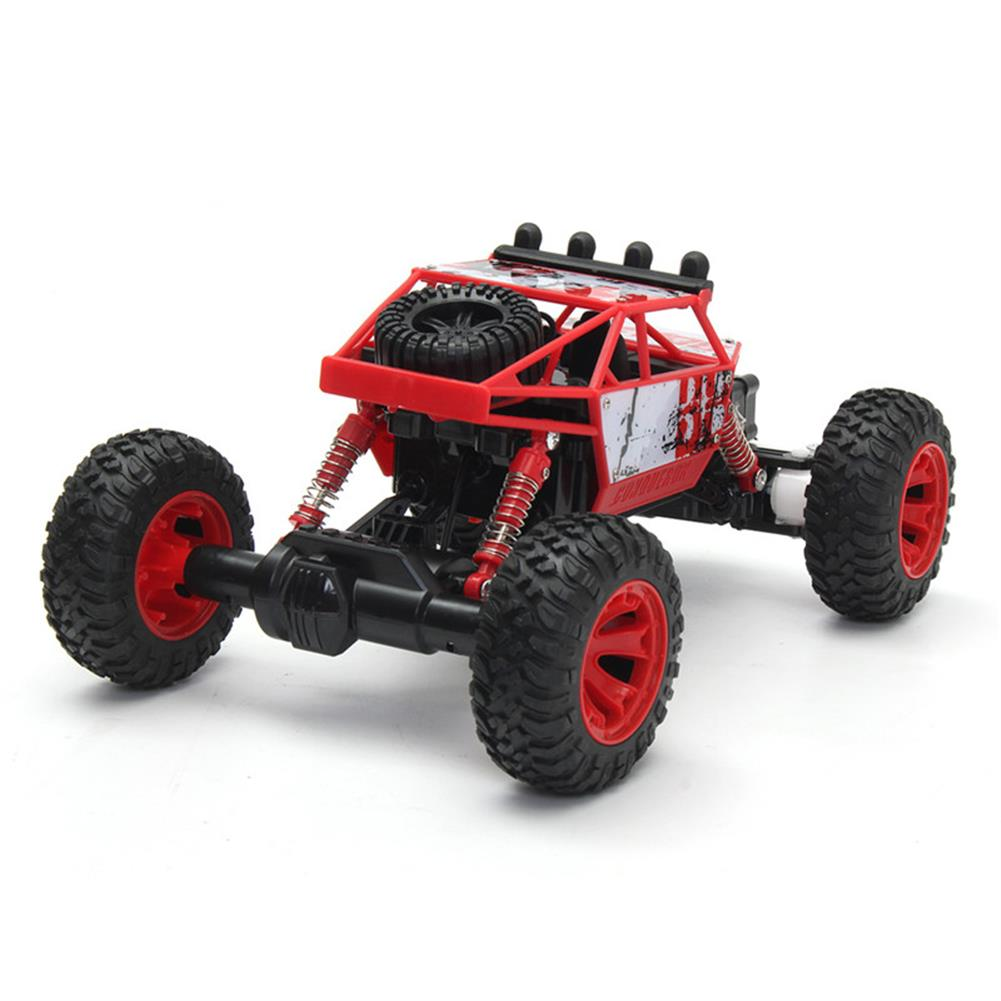 rc-cars 1/18 2.4G 4WD RC Racing Car Double Motor Buggy Rock Crawler Off-Road Truck Toys RC1262114 4