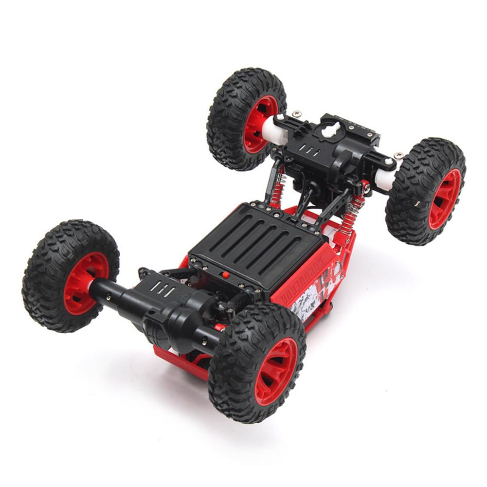 rc-cars 1/18 2.4G 4WD RC Racing Car Double Motor Buggy Rock Crawler Off-Road Truck Toys RC1262114 5