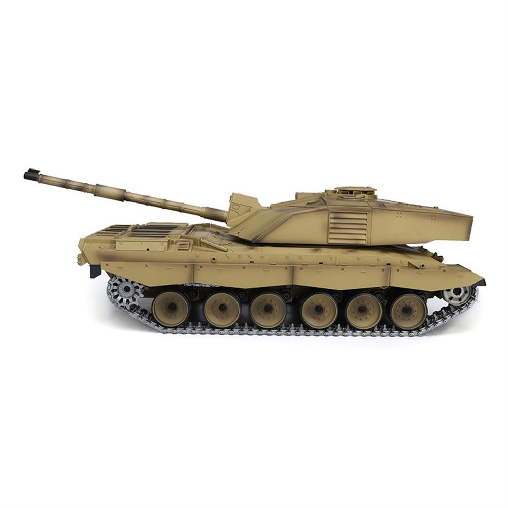 rc-tank Henglong 3908-1 1/16 2.4G Smoking British Challenger 2II RC Car Battle Tank  Metal Gearbox Toys RC1270116 3