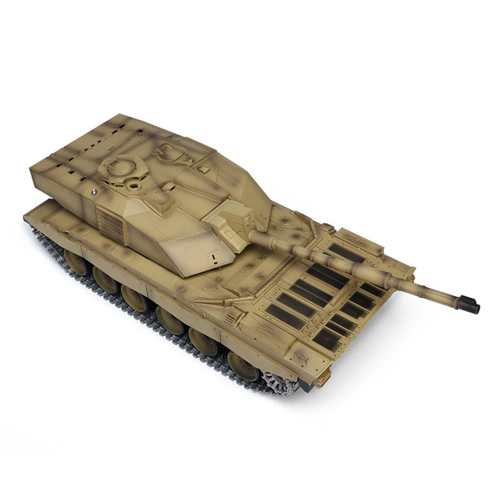 rc-tank Henglong 3908-1 1/16 2.4G Smoking British Challenger 2II RC Car Battle Tank  Metal Gearbox Toys RC1270116 4